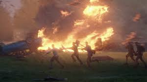 Seriously, Into the Storm had more hell like images and developed characters than Left Behind!
