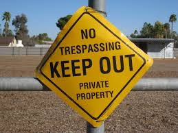 Keep Out Private Property